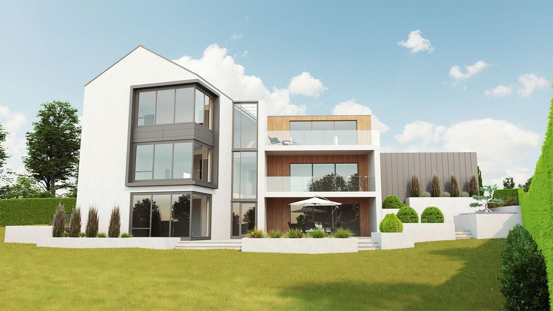 backyard-exterior-cgi-bangor-road-hollywood-francos-and-costa-architectural-visualisation-agency