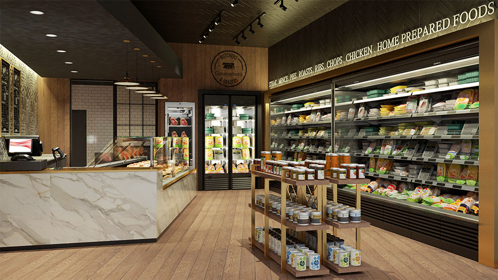 interior-cgi-fridges-cunningham-butchers-the-quays-newry-francos-and-costa-architectural-visualisation-agency