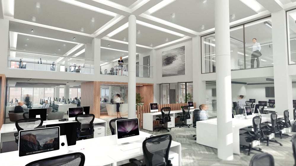 chichester-house-6thfloor-open-floor-office-3-interior-cgi-francos-and-costa-architectural-visualisation-agency