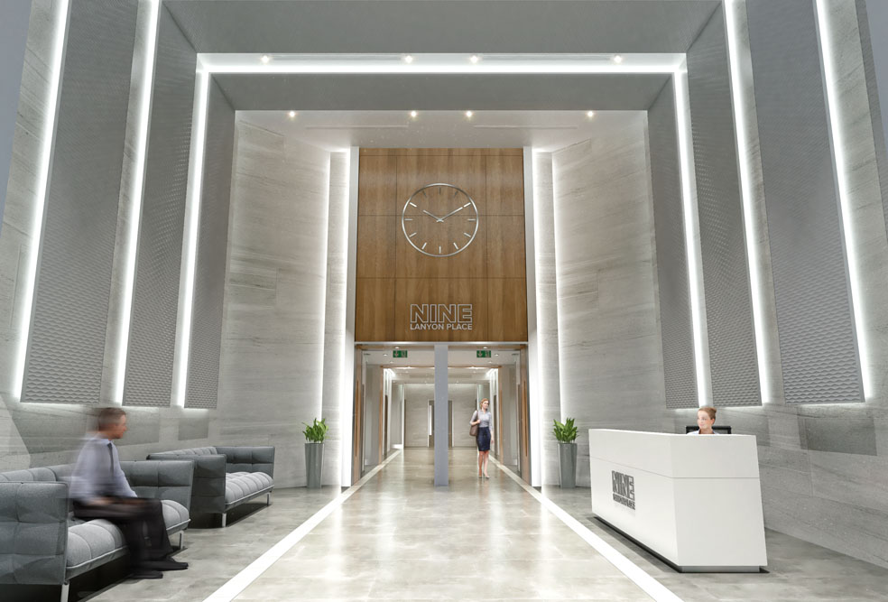 reception-areas-design-lobby-office-interior-cgi-nine-lanyon-place-belfast-francos-and-costa-architectural-visualisation-agency