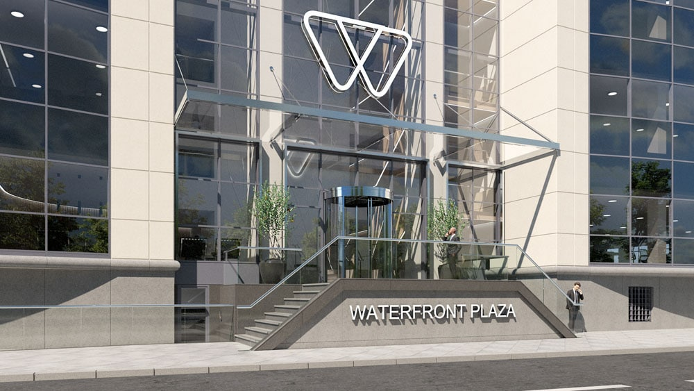 waterfront-plaza-entrance-exterior-cgi-francos-and-costa-architectural-visualisation-agency